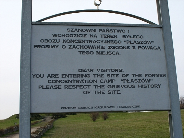 Płaszów_memorial_sign