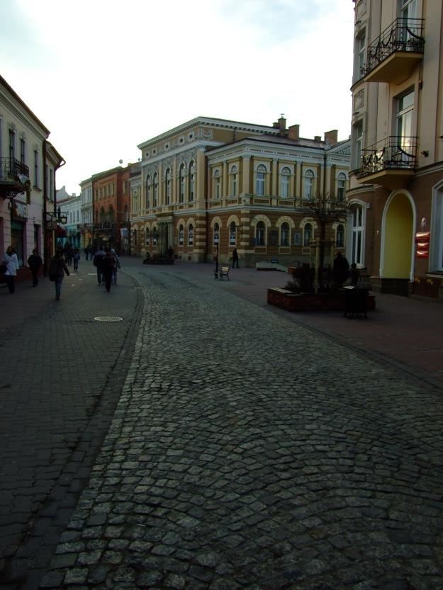Tarnów,_centrum_města,_ulica_Wałowa
