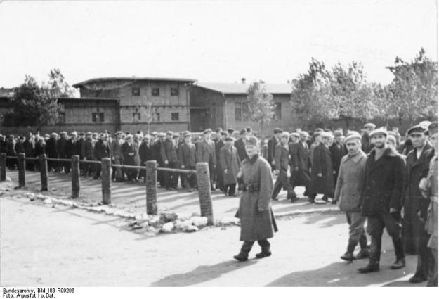 Polen, Bromberg, Juden im Internierungslager