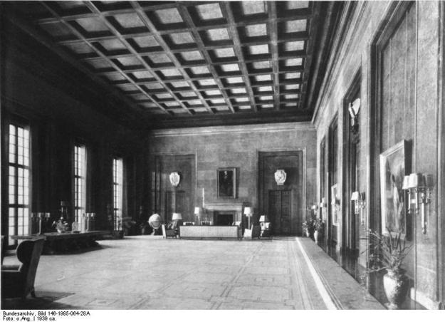 Berlin, Neue Reichskanzlei, Arbeitszimmer