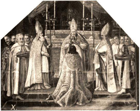 Coronation of John II Casimir Vasa at wawel in 1649
