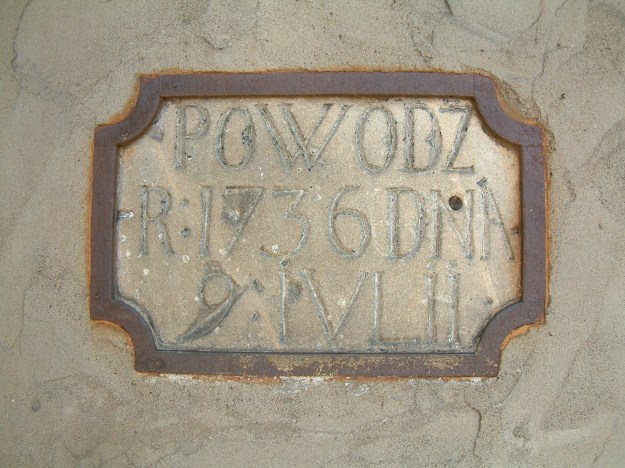 flood plaque