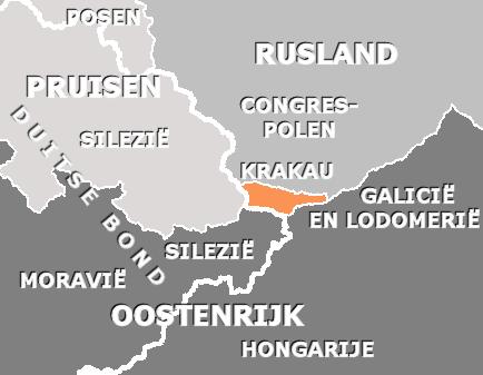 free city of krakow 1820