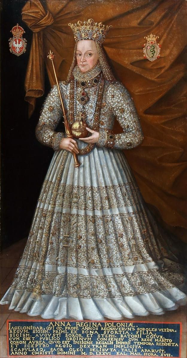 Kober_Anna_Jagiellon_in_coronation_robes