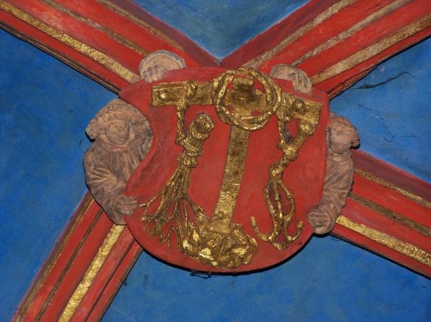 Kraków_-_Kościół_Św._Barbary_-_Zwornik