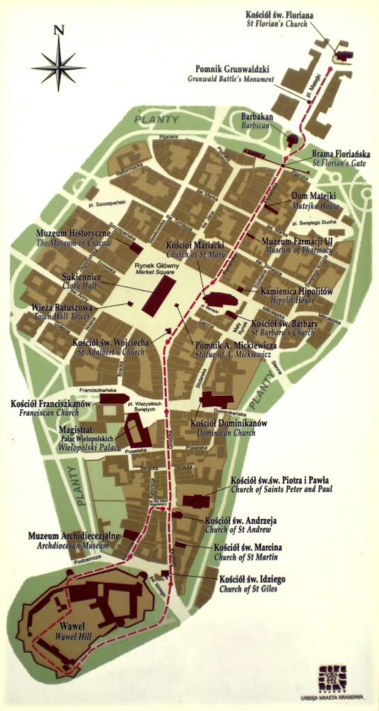 Krakow-Old-Town(Stare-Miasto-Planty)Royal-Route