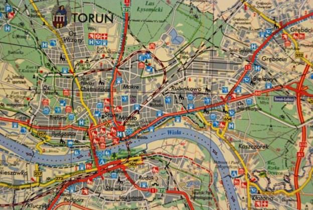 map torun