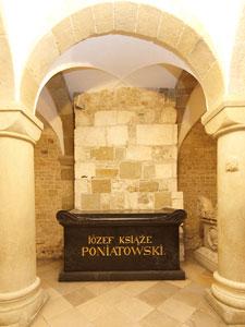 Sarcophagus of Duke Józef Poniatowski