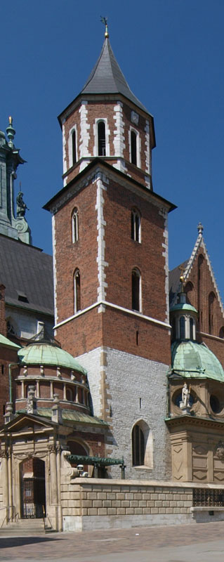 silver bells tower, the oldest bell tower of the Cathedral