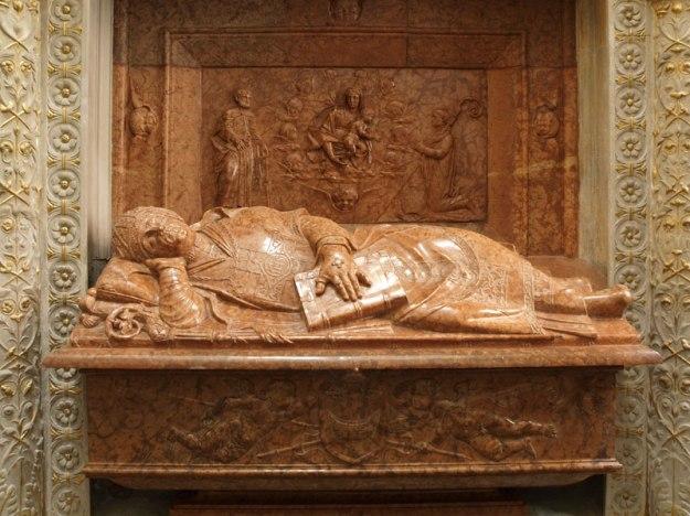 The effigy of Bishop Tomicki