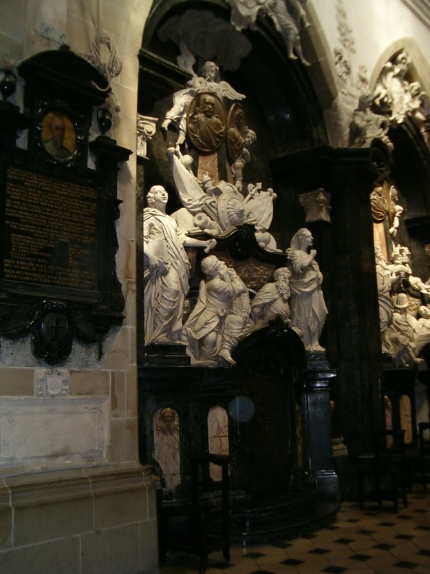 The monument to King Jan III Sobieski and Queen Marie Casimire
