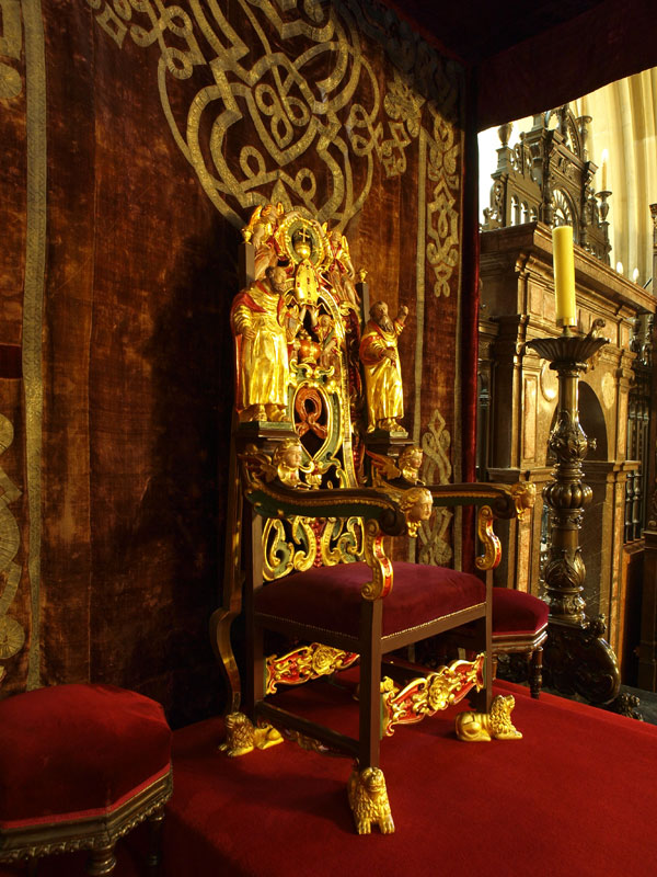 The throne of the Bishops of Cracow
