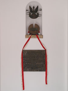The urn with soil from Katyn