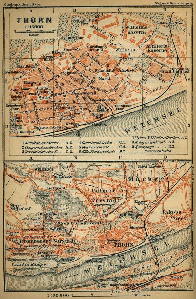 Thorn_1910_Stadtplan_Baedeker