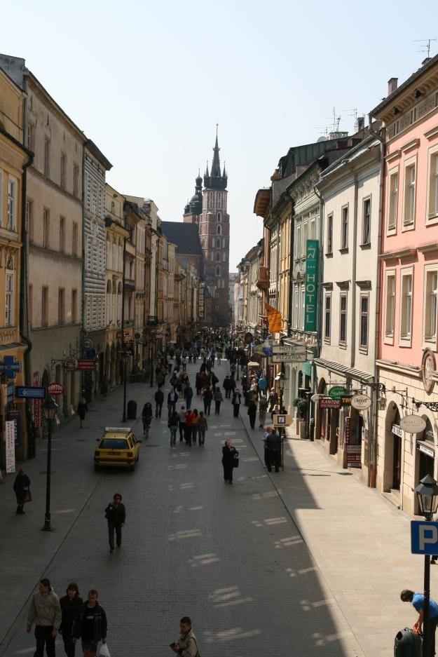 Ulica_Floriańska_w_Krakowie