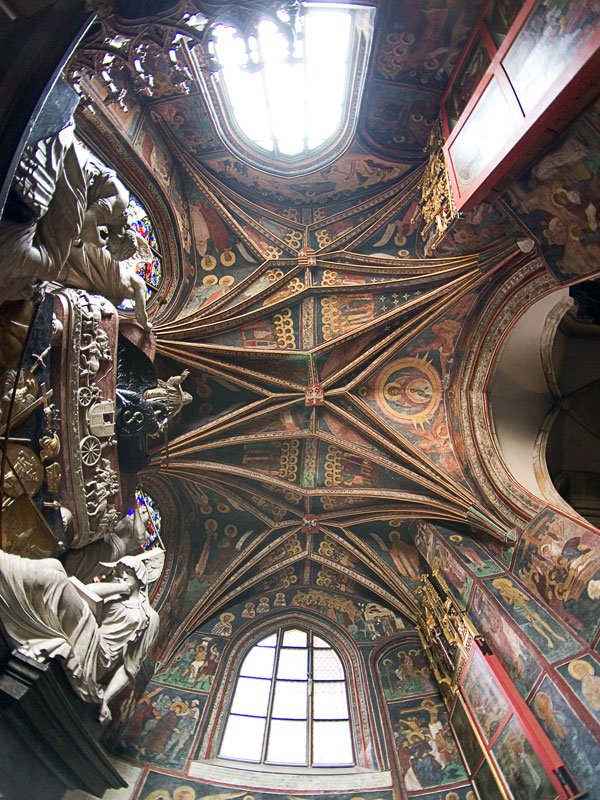 Vaulting at the Holy Cross Chapel