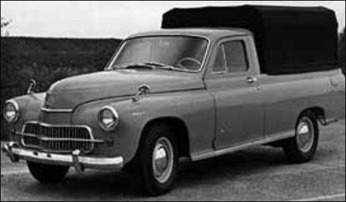 FSO 1963 Warszawa-pickup