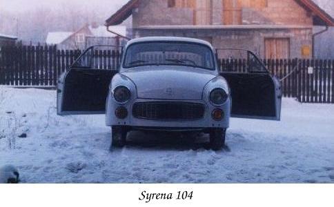 Syrena_104_przod